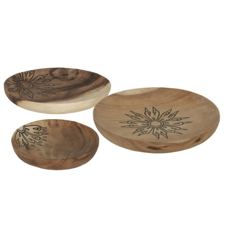 MUST Living-collectie Trays Mandala, set of 3