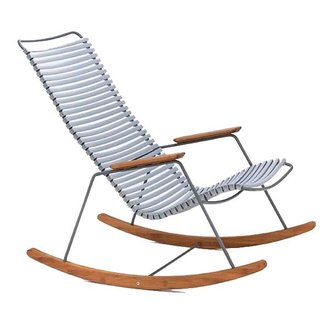 Houe CLICK Rocking Chair with Grey lamellas
