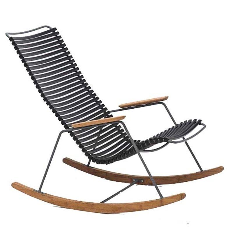 Houe-collectie CLICK schommelstoel Zwart