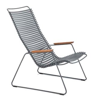 Houe CLICK Lounge Chair with Dark Grey lamellas