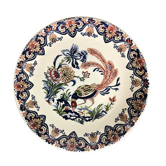 DEENS LOVES hand painted decoration plate