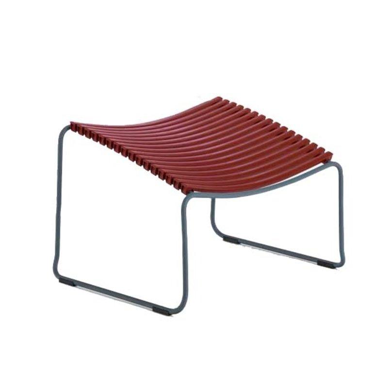 Houe-collectie CLICK Footrest Paprika
