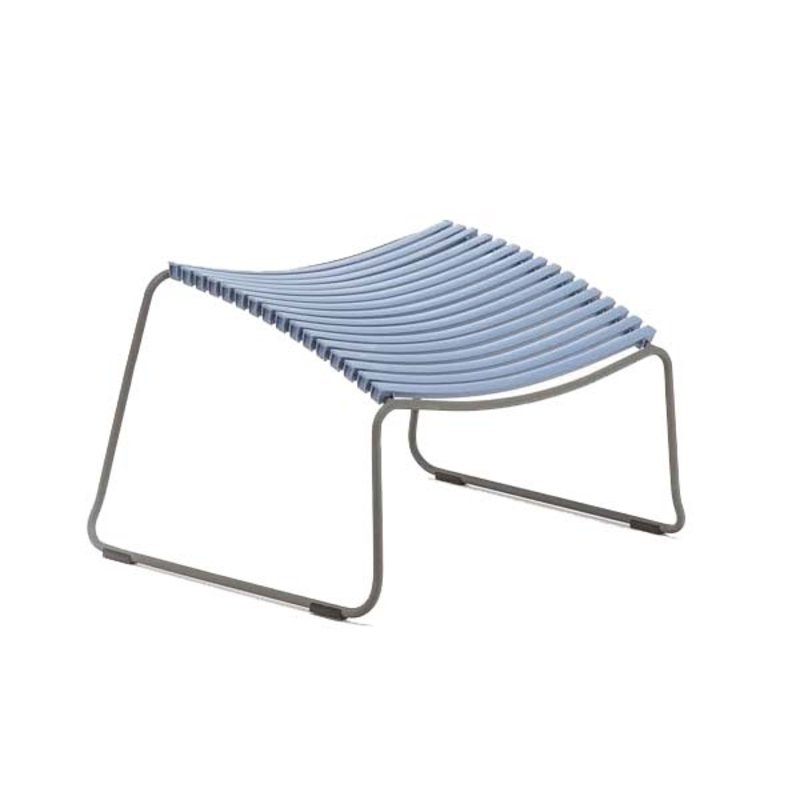 Houe-collectie CLICK Footrest Pigeon blue