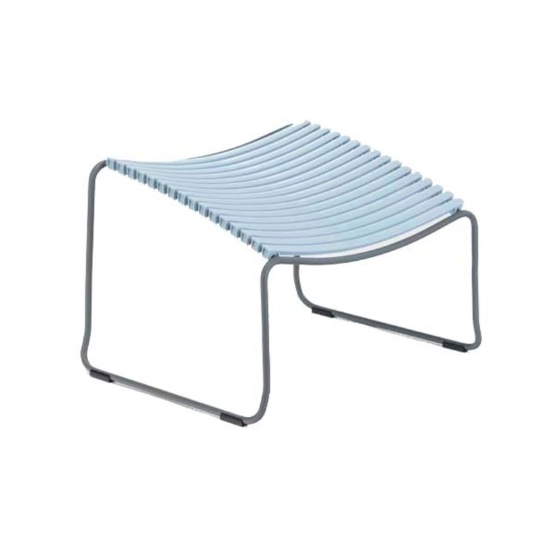 Houe-collectie CLICK Footrest Dusty blue