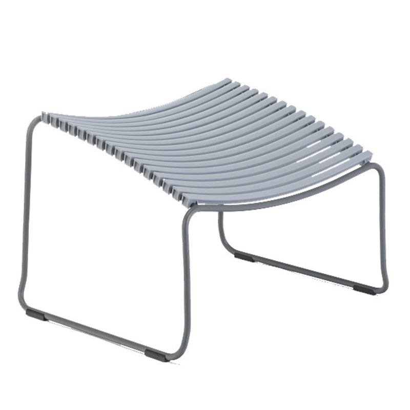 Houe-collectie CLICK Footrest Grey