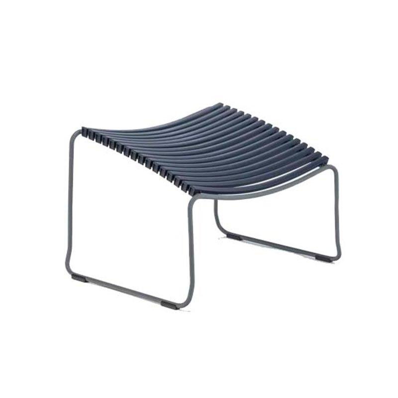 Houe-collectie CLICK Footrest Dark blue