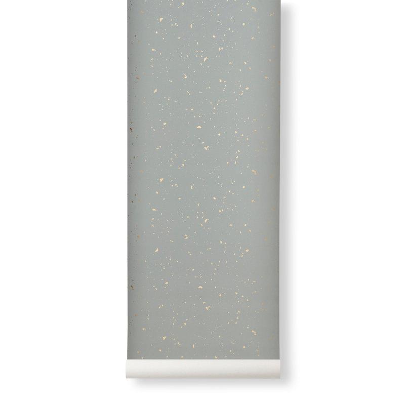 ferm LIVING-collectie Confetti Wallpaper - Grey
