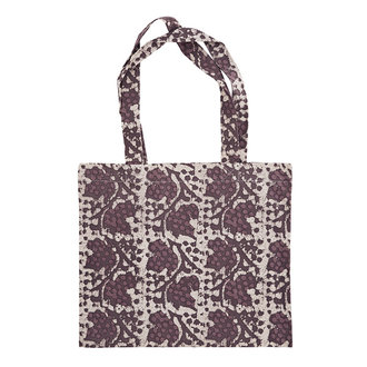 Madam Stoltz Printed tote bag Rose, rhododendron