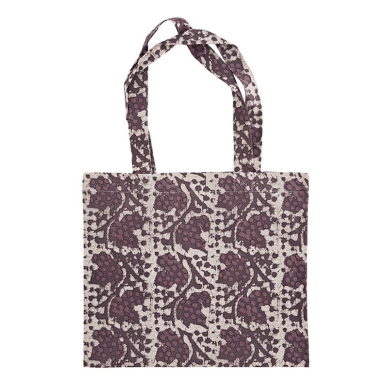 Madam Stoltz-collectie Printed tote bag Rose, rhododendron