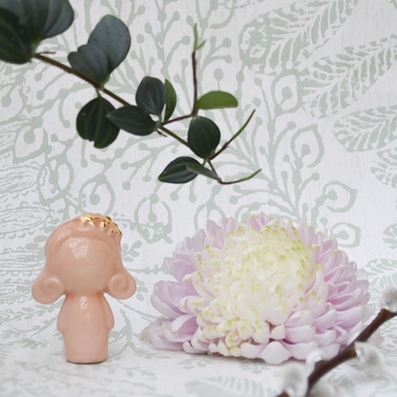 Atelier W.-collectie Popje Doll me up Flowers nude