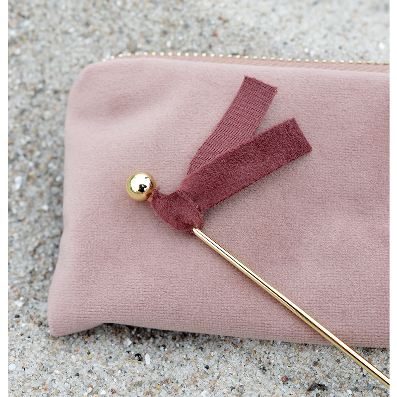 Delight Department-collection Velvet caketoppers roze