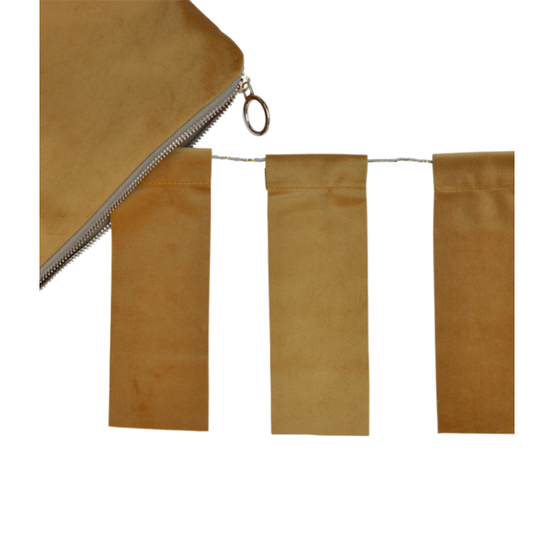 Delight Department-collection Velvet flag ochre