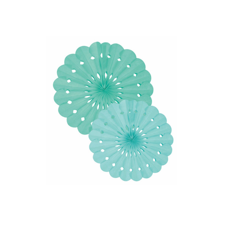 Delight Department-collection Tissue paper green fan set