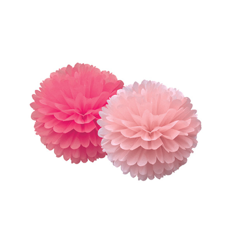 Delight Department-collection Pompom roze - set van 2