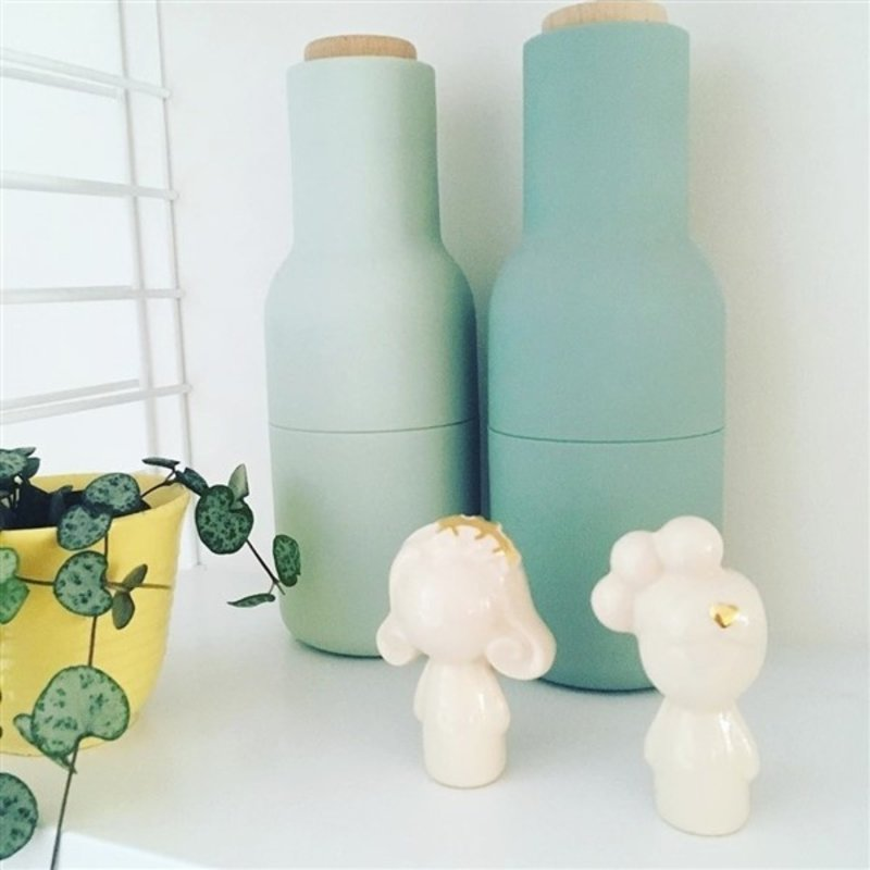 Atelier W.-collectie Popje Doll me up Flowers creme