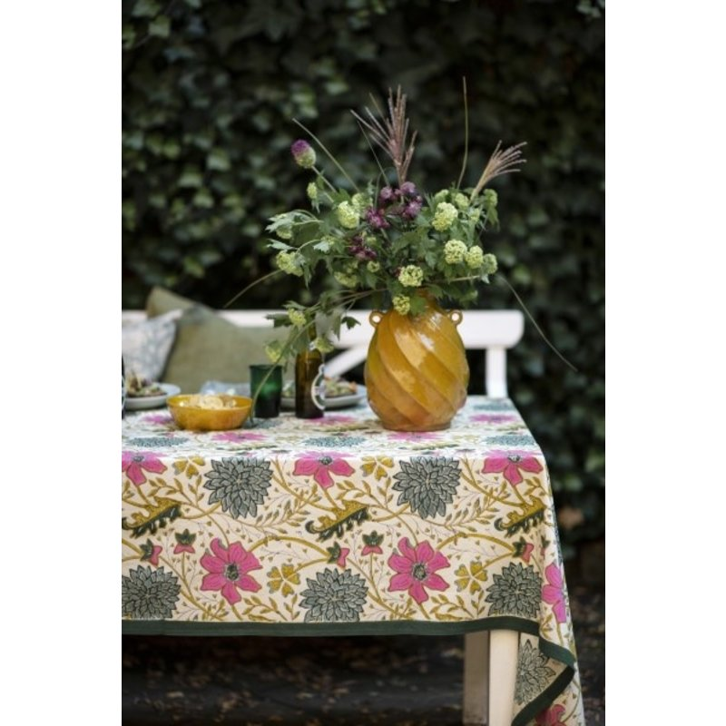 Bungalow-collectie Tablecloth 150x250 cm Sitapur Parrot