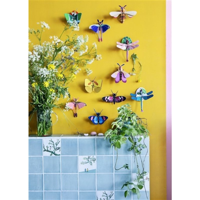 Studio ROOF-collectie Insect Blue Comet Butterfly