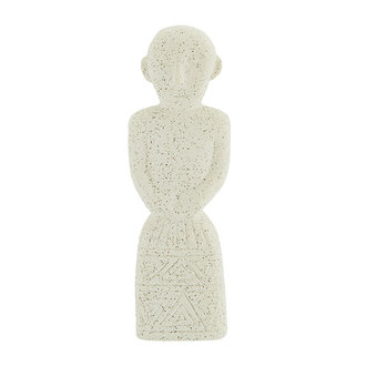 Madam Stoltz Stoneware decoration - White