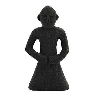 Madam Stoltz Stoneware decoration - Black