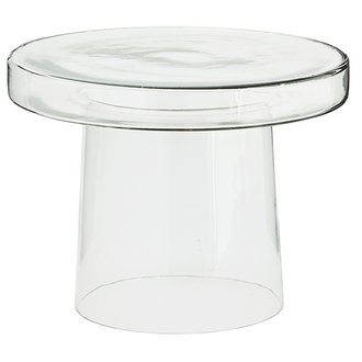 Madam Stoltz Glass side table - Clear