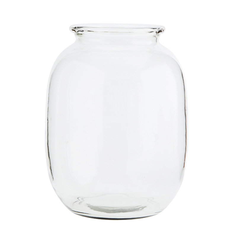 Madam Stoltz-collectie Glass vase - Clear