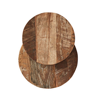 Madam Stoltz Recycled wooden trays - Natural