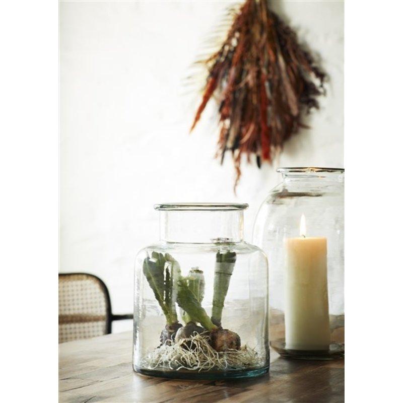 Madam Stoltz-collectie Glass vase - Clear
