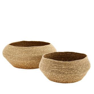 Madam Stoltz Seagrass baskets - Natural
