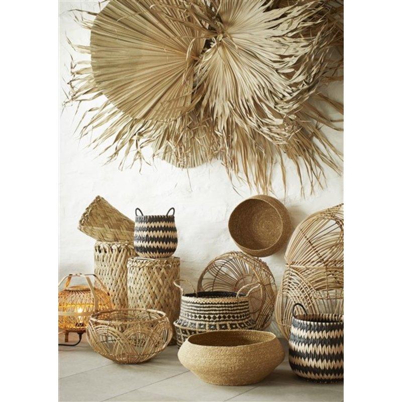 Madam Stoltz-collectie Seagrass baskets - Natural
