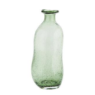Madam Stoltz Glazen vaas groen
