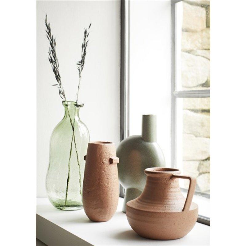 Madam Stoltz-collectie Glazen vaas groen