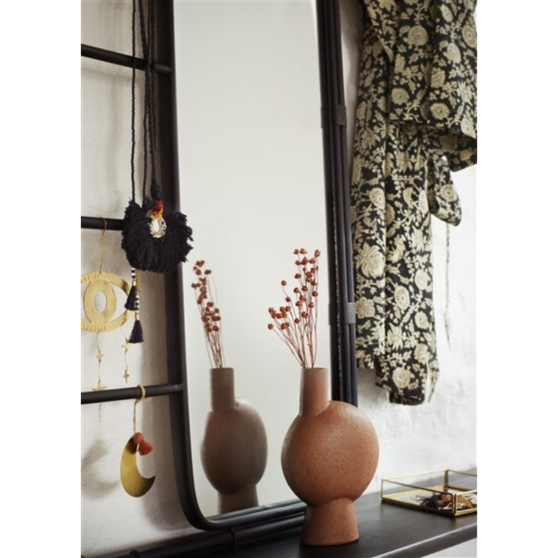 Madam Stoltz-collectie Stoneware vase - Rust