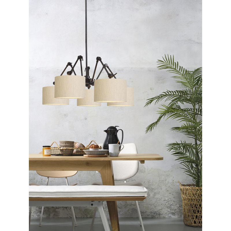 it's about RoMi-collectie Chandelier Amsterdam shade 3220, l.linen