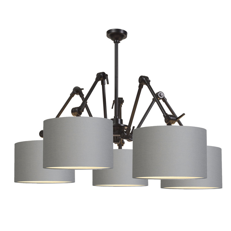 it's about RoMi-collectie Chandelier Amsterdam shade 3220, l.grey
