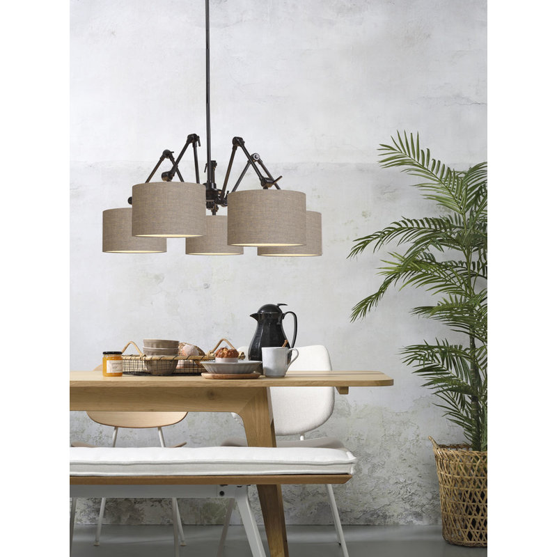 it's about RoMi-collectie Chandelier Amsterdam shade 3220, d.linen