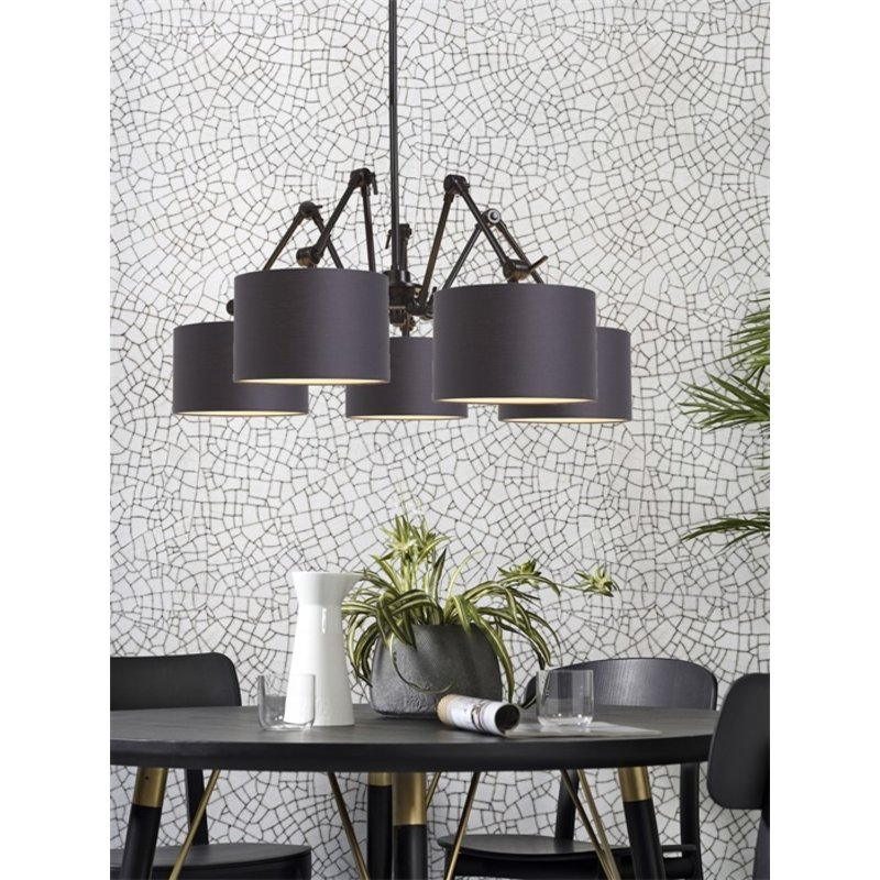 it's about RoMi-collectie Chandelier Amsterdam shade 3220, d.grey