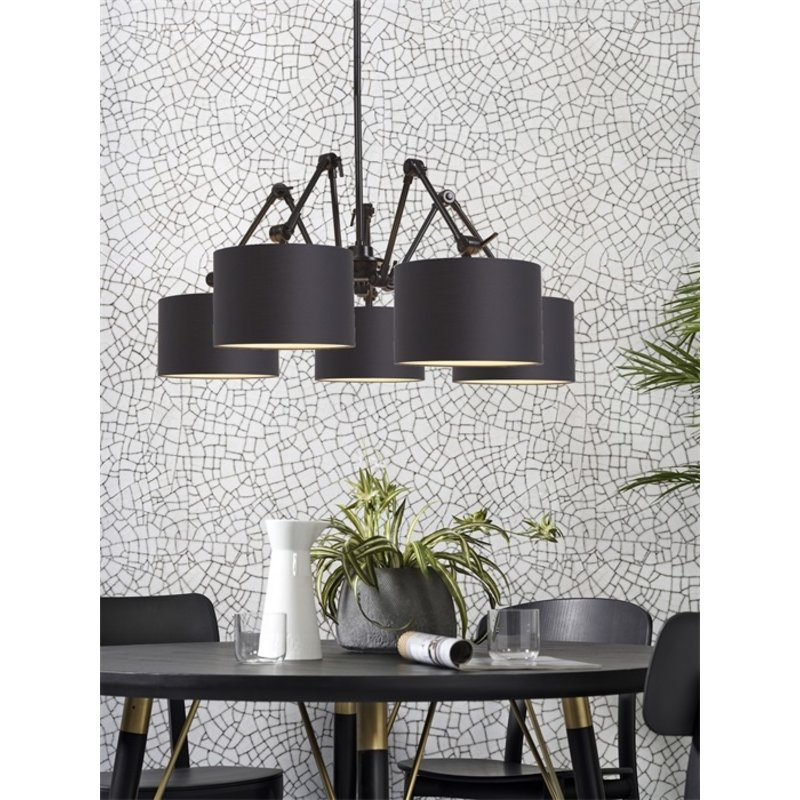 it's about RoMi-collectie Chandelier Amsterdam shade 3220, black