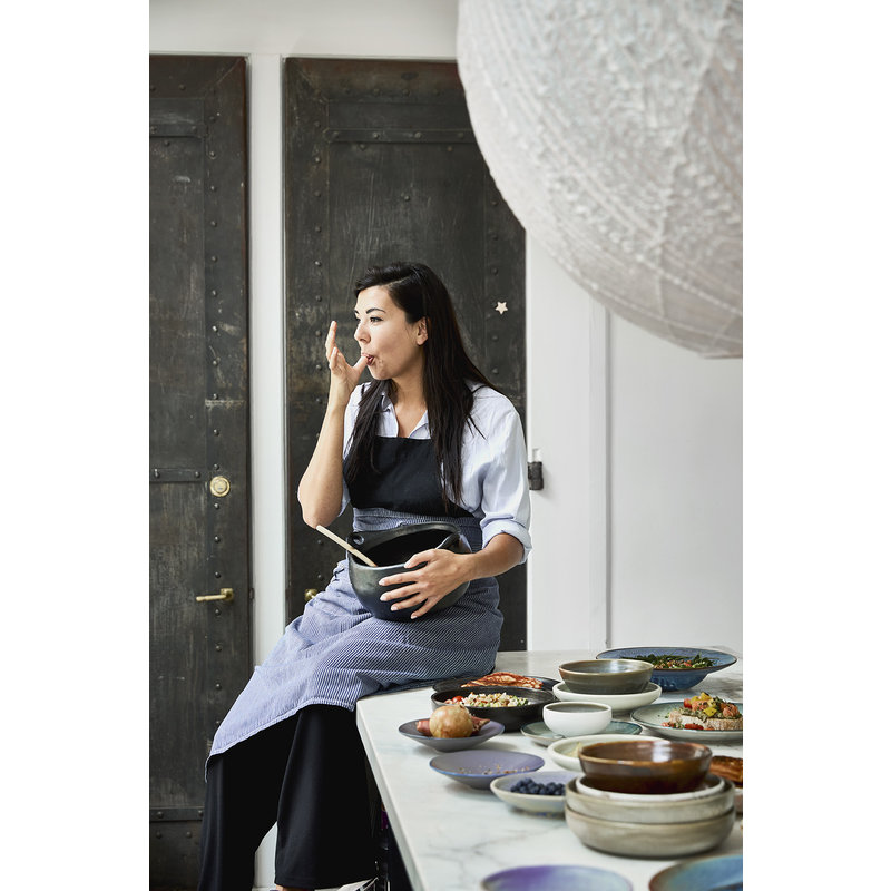 HKliving-collectie Keramieke bord mintgroen