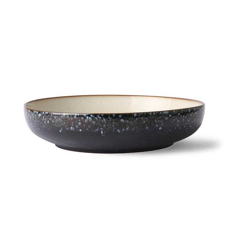 HKliving-collectie Ceramic 70's salad bowl: galaxy