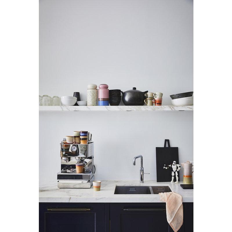 HKliving-collectie Ceramic 70's storage jar: hail