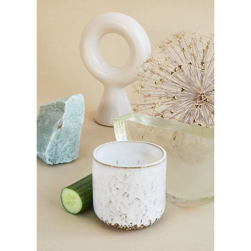 HKliving-collectie Ceramic scented candle: northern soul