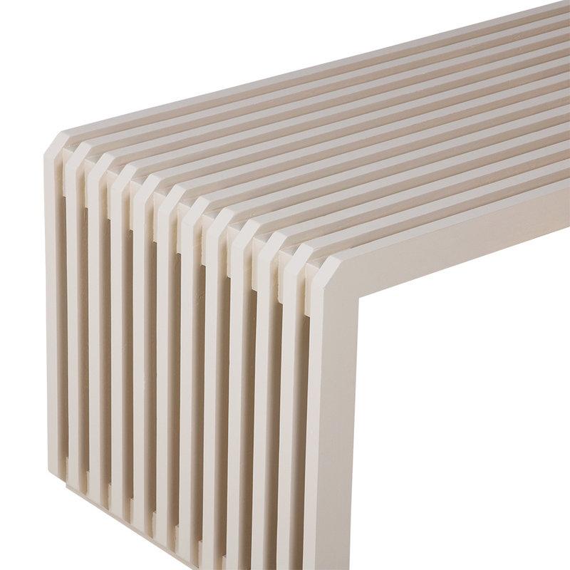 HKliving-collectie Slatted bench/element sand