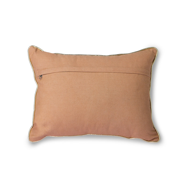 HKliving-collectie Nude cushion with silver patches (30x40)