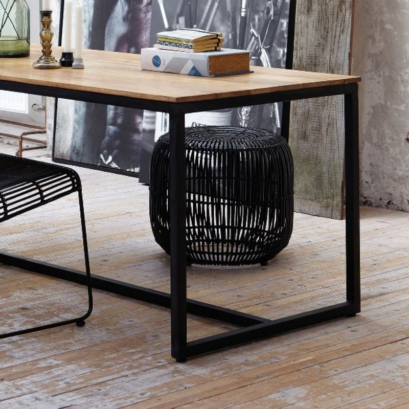 House Doctor-collectie Stool MODERN black