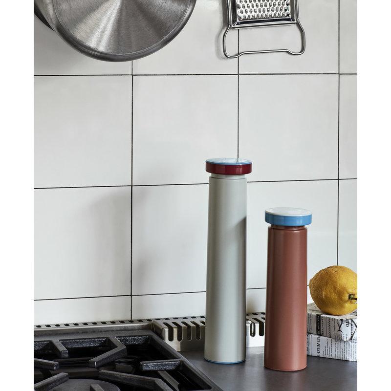 HAY-collectie Zout en pepermolen Terracotta M
