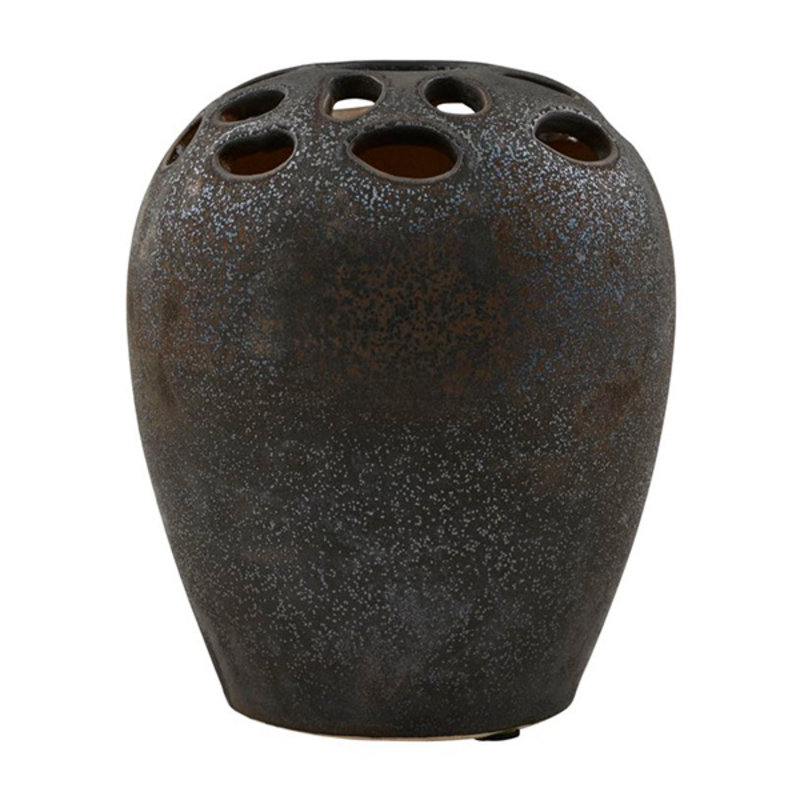 House Doctor-collectie Vase, Varios, Black stain, Finish/Colour may vary