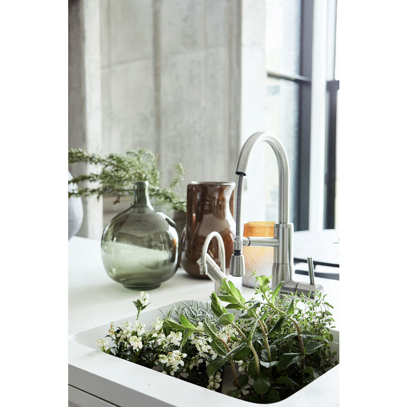 House Doctor-collectie Candle stand, Mist, Brown