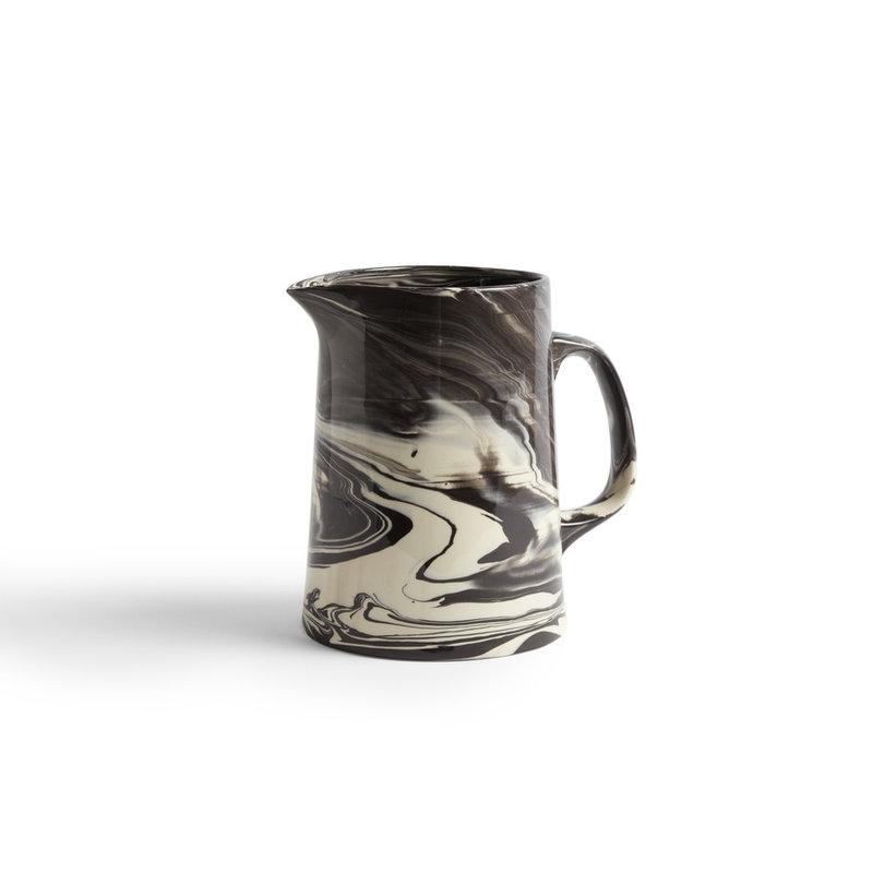 HAY-collectie Karaf Marbled zwart