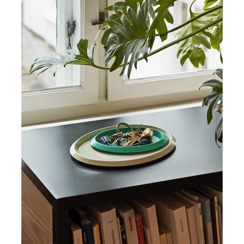 HAY-collectie Tray Ellipse Groen XS