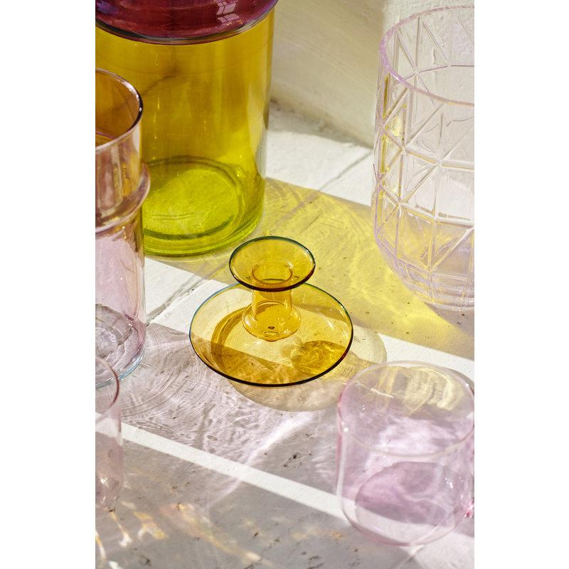 HAY-collectie Kandelaar Flare Geel